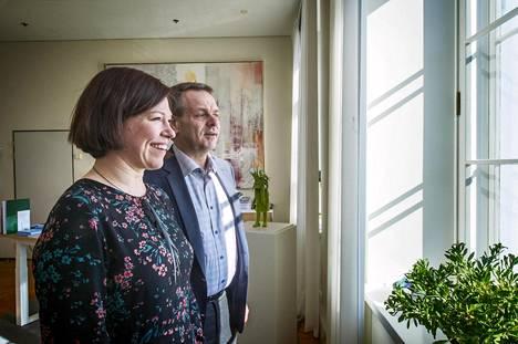 Helsingin apulaispormestari Anni Sinnemäki ja pormestari Jan Vapaavuori toivovat seuraavalta hallitukselta kumppanuutta, jotta Helsinki voi toteuttaa jouhevammin esimerkiksi tehokkaampia ilmastotoimia.