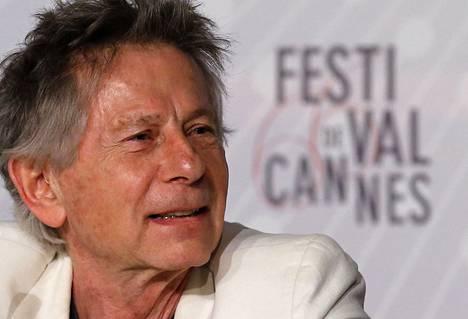 Elokuvaohjaaja Roman Polanski lehdistötilaisuudessa Cannesin elokuvajuhlilla vuosi sitten toukokuussa.