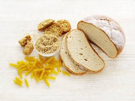 Keliakiassa suoliston nukka vaurioituu viljatuotteiden sisältämästä gluteenista.