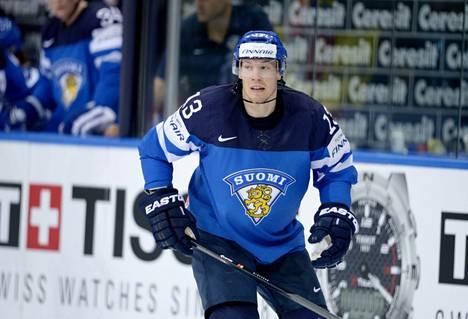 Petteri Wirtanen pelasi toukokuussa Minskin MM-turnauksessa.