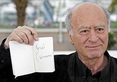 Georges Wolinski kuvattuna Cannesin elokuvafestivaaleilla keväällä 2008.
