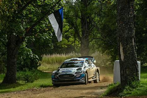 Esapekka Lappi ajoi kaksi viikkoa sitten Fordillaan seitsemänneksi Viron MM-rallissa Tartossa. Turkissa hän tavoittelee viime vuoden tavoin palkintopallisijaa.