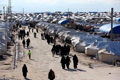 Al-holin leiri kuvattuna huhtikuussa.