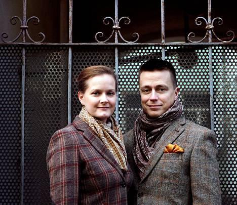 Leila ja Atte Kaleva Helsingissä viime marraskuussa.