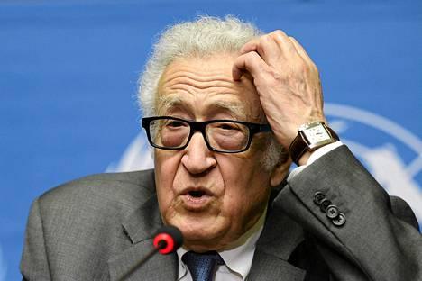 YK:n erikoislähettiläs Lakhdar Bramini.