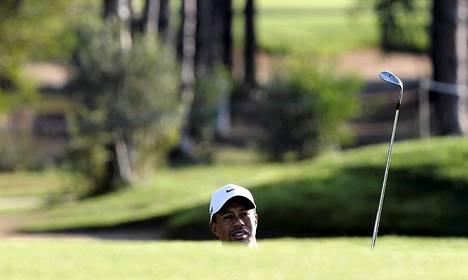 Tiger Woodsin peli sujuu Turkissa.