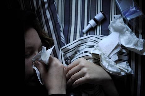 Influenssarokotuksen voi ottaa vielä silloinkin, kun epidemia on käynnissä.