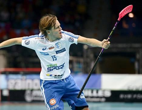 Miko Kailiala teki MM-välierässä Tšekkiä vastaan kaksi maalia.