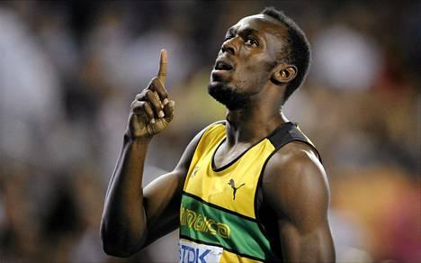 Usain Bolt on satasen ja 200 metrin ME-mies.