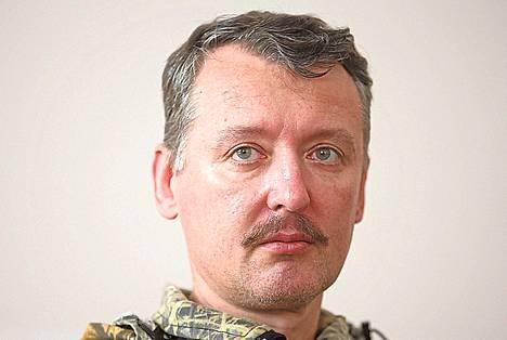 """Kapinalliskomentaja Igor Strelkov tunnetaan myös nimellä Strelok eli """"ampuja""""."""