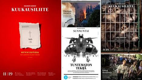 Helsingin Sanomat sai kilpailussa palkintoja sekä painetuista että verkossa julkaistuista kokonaisuuksista.