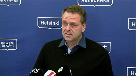 Helsingin pormestari Jan Vapaavuori