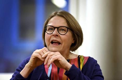 Europarlamentaarikko Heidi Hautala (vihr)