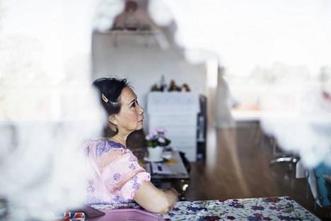 Anh Thuy Le on asunut Helsingin Malmilla yli kolmekymmentä vuotta.