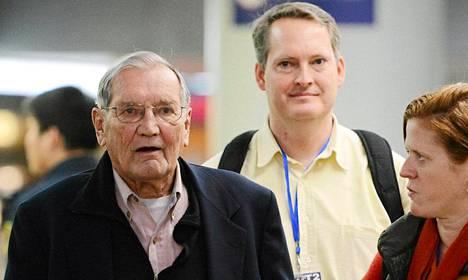 Korean sodan veteraani Merrill Newman pidätettiin lokakuussa.