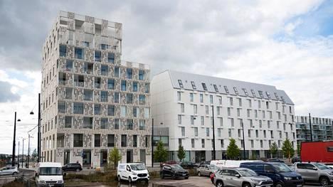 """Jätkäsaaren Länsisatamankatu 23:ssa sijaitsevaa """"Pitsitaloa"""" kommentoitiin arviointiraadissa sekä """"moderniksi vitsiksi"""" että onnistuneeksi kohteeksi, jossa on klassikon aineksia."""