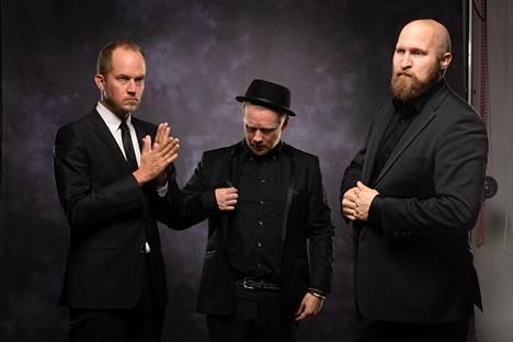 Tommy Lindgren (vas.) Redrama ja Paleface haluavat voittaa ennakkoluulon, jonka mukaan jazz on vaikeaselkoista.