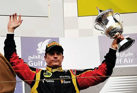 Kimi Räikkönen oli kolme viikkoa sitten Bahrainin GP:ssä toinen.