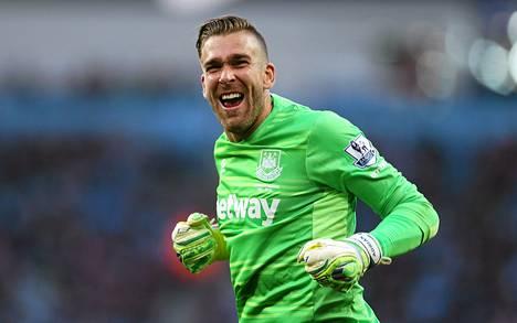 West Hamin maalivahti Adrian pelasi loistopelin.