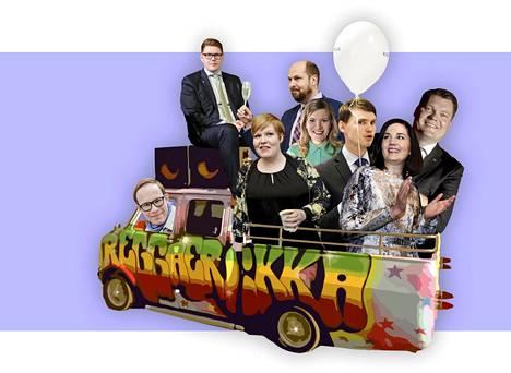 Reggaerekka-ajoneuvo esiintyi Lord Estin ja Petri Nygårdin Reggaerekka-musiikkivideolla vuonna 2011.