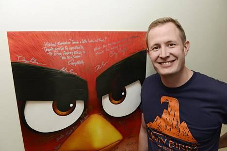 Mikael Hed johti Angry Birds -elokuvan tuotantoa.