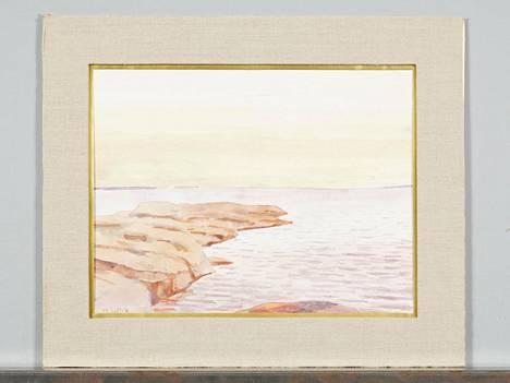 """Maria Wiikin (1853–1928) työ on yksi niistä teoksista, joita Huutokauppa Helander myy keskiviikkona huutokaupassaan. Teosta myydään merkinnällä """"Provenienssi Galerie Hörhammer."""