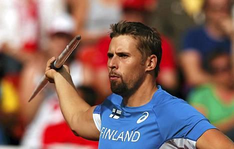 Antti Ruuskanen voitti EM-kultaa.