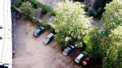 Autopaikan arvo ei muodostu sen pinta-alasta vaan siitä, että ruutuun ylipäänsä mahtuu auto.