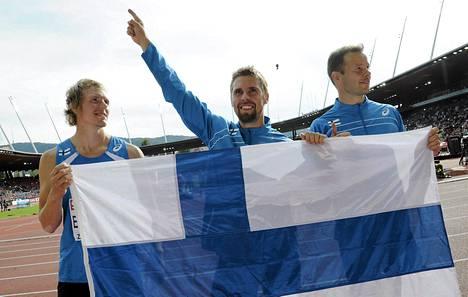 Suomen keihäsmiesten otteita seurasi enimmillään yli 1,6 miljoonaa katsojaa.