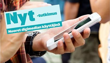 Nyt tutki TNS Gallupin kanssa sitä, miten Suomen nuoret käyttävät mediaa.