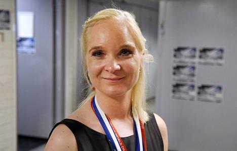 Joukkuevoimisteluvalmentaja Titta Heikkilä on urheilutoimittajien liiton ehdokaslistalla vuoden valmentajaksi.
