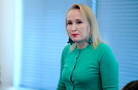 Teknologiateollisuuden työmarkkinajohtaja Minna Helle.