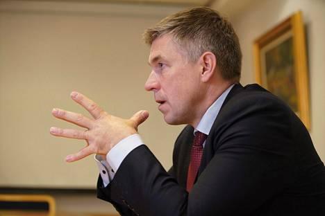 MTK:n puheenjohtaja Juha Marttila