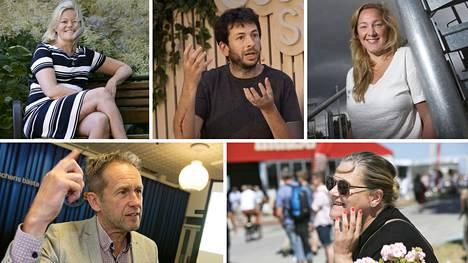 Jenni Nordborg, Blaise Aguera y Arcas, Jenny Hermanson, Svante Axelsson ja Anna Karlsdottir ennustavat Ruotsin tulevaisuutta.