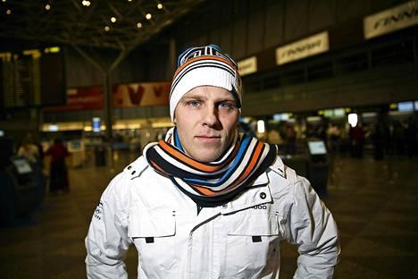 Jouni Pellisellä on voittokaapissaan yksi MM-hopea vuodelta 2011.