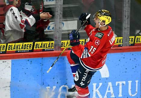 HIFK:n hyökkääjä Anton Lundell on Nuorten Leijonien ykkösnimi MM-turnauksessa. Liigassa Lundell on tehnyt tällä kaudella 17 ottelussa 12 maalia.