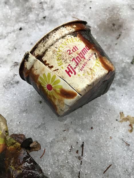 Kassista löytyi myös Ingmanin viiliä.