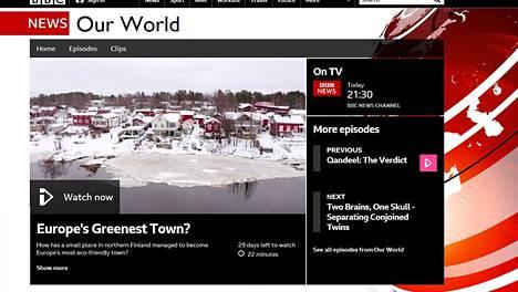 BBC:n Europe's Greenest Town -dokumentti käsittelee Iin kuntaa.