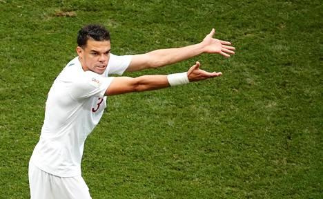 Pepe on edelleen Portugalin puolustuksen avainhahmoja.