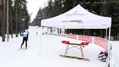 Suomen suksivoitelun hermokeskus on ollut MM-latujen varrella valmiina jo pari päivää.
