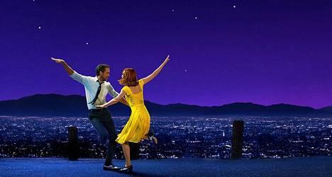 Ryan Gosling ja Emma Stone esittävät pääosia La La Landissa.