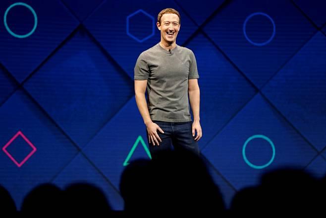 Mark Zuckerberg puhui Facebook-kehittäjille San Joséssa Kaliforniassa huhtikuussa 2017.