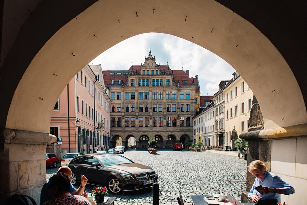 Saksan itäisimmässä kaupungissa Görlitzissä asuu nykyisin noin 55000 asukasta.
