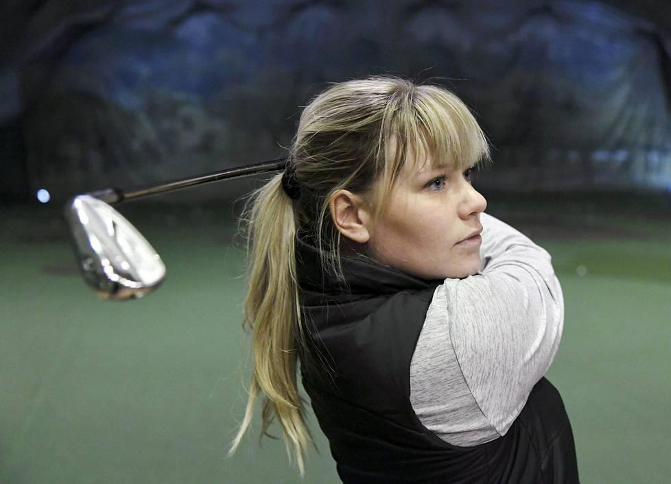Matilda Castren on noussut hurjasti golfin maailmanlistalla.