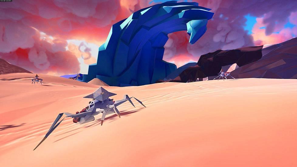 Paper Beast on runollisen kaunis virtuaalitodellisuuspeli.