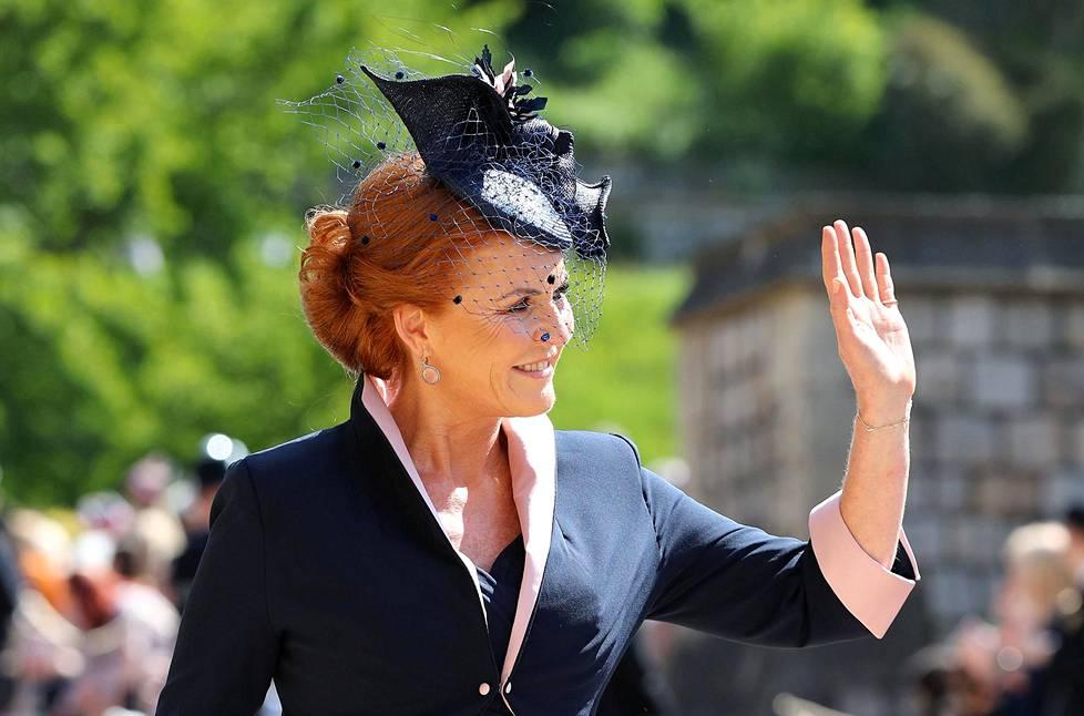Yorkin herttuatar Sarah.