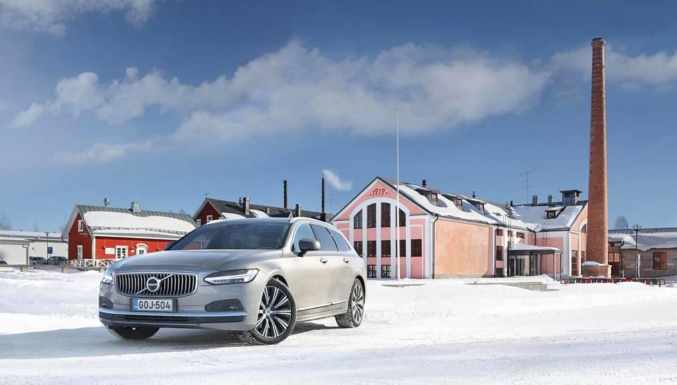 Kartano-Volvo on kasvanut vuosien mittaan pituutta ja leveyttä.