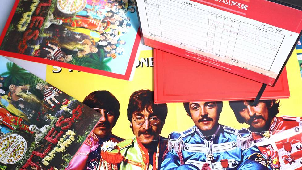 The Beatlesin Sgt. Pepper's Lonely Hearts Club Band -albumi ilmestyi alun perin 26. toukokuuta 1967.