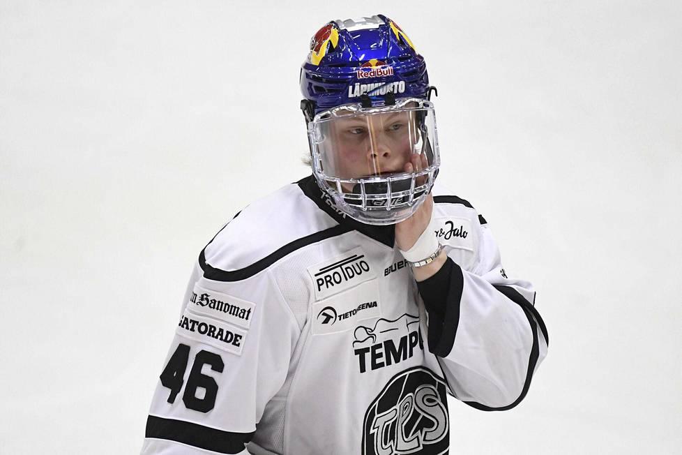 TPS's Juuso Pärssinen.