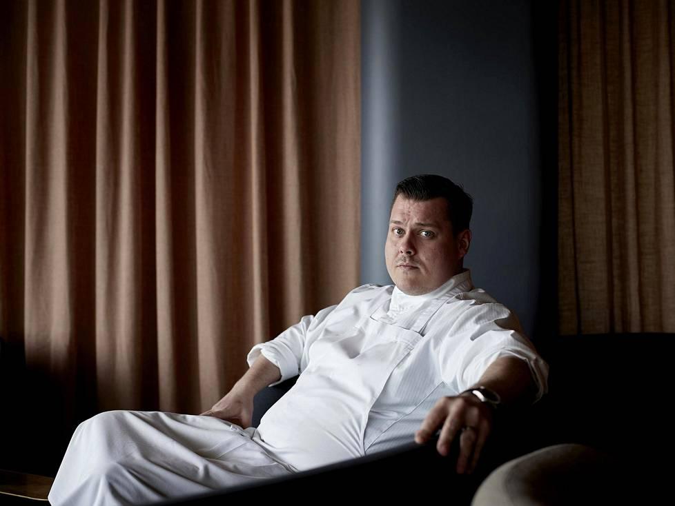 Persoonallisuustestissä Eero Vottonen kuuli olevansa hankala luonne. Sittemmin ravintola Palacen keittiömestari on opetellut kuuntelemaan toisia.